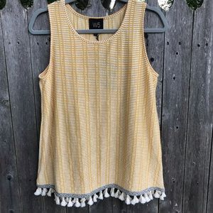 W5 Tank Top with Tassel